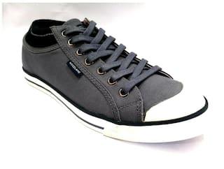 Woodland Men Grey Sneakers - 1950115c Grey