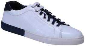 Woodland Men White Sneakers