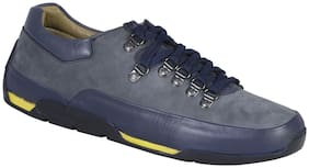 Woodland Men Navy Blue Casual Shoes -