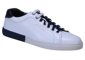 Woodland Men White Sneakers