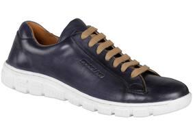 Woodland Men Navy Blue Sneakers