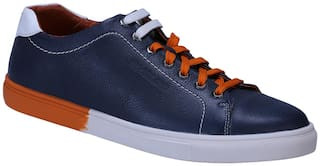 Woodland Men Navy Blue Sneakers