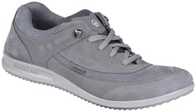 Woodland Men Grey Casual Shoes -