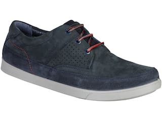 Woodland Men Navy Blue Casual Shoes