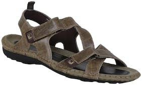 Woodland Men Khaki Sandals -