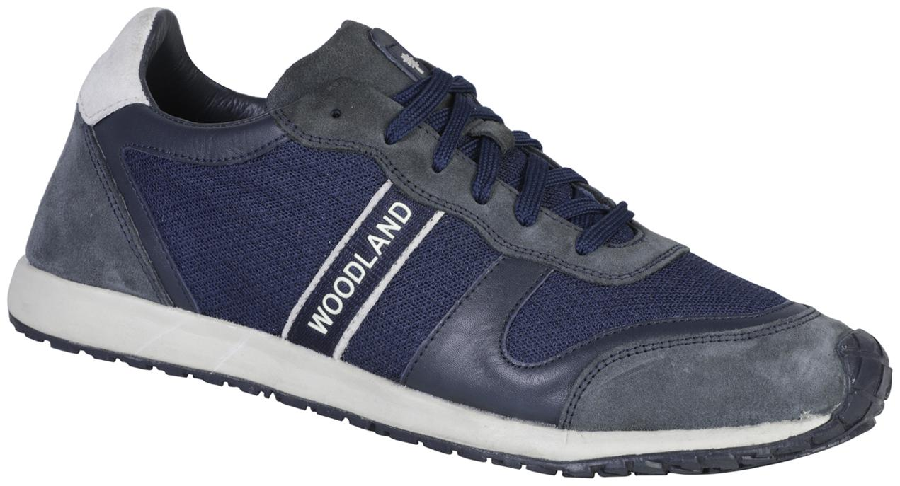 Buy Woodland Suede Running Shoes for