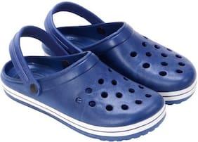 WOODWILL Men Blue Sandals & Floaters