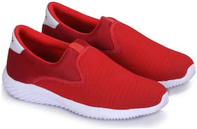 WOYAK Men Red Casual Shoes - EVA SOLE LIGHTWEIGHT BASIC SHOES 1.0.0