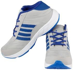 Xeroto Marrk Grey Running Shoes For Men's