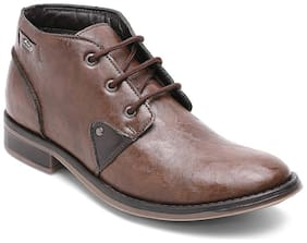 Xess by Id Men Brown Outdoor Boots - XS1008BROWN - XS1008BROWN