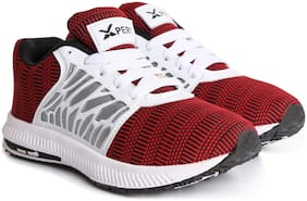 Xpert Maroon Sport Shoes for Men
