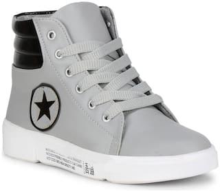 YALA Women Grey Casual Shoes