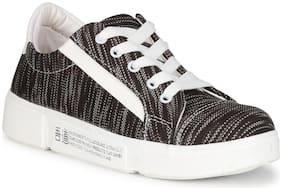 YALA Women Black Casual Shoes