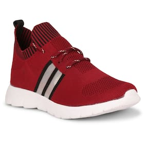Running Shoes For Men ( Maroon )