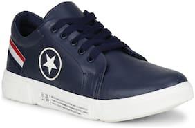 YALA Men Navy Blue Casual Shoes - 3005