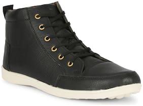 YALA Men Black Ankle Boots - YALA-1011-BLACK