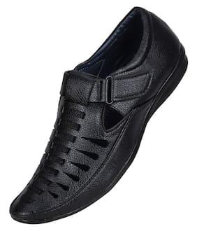 YALA Men Black Sandals