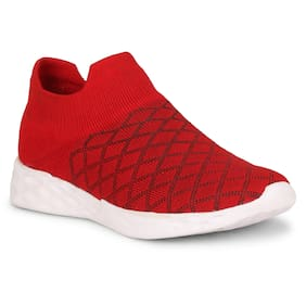 Walking Shoes For Men ( Red )