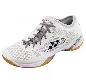 Yonex Men White Badminton/squash Shoes