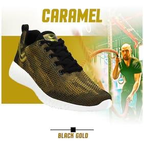 YUUKI Men CARAMEL Running Shoes ( Green )