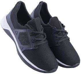 Zappy Men Air-0080-Black Running Shoes ( Black )