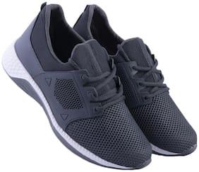 Zappy Men Air-0080-Grey Running Shoes ( Grey )