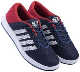 Zappy Men Nitro-0078-BluRed Running Shoes ( Red & Blue )