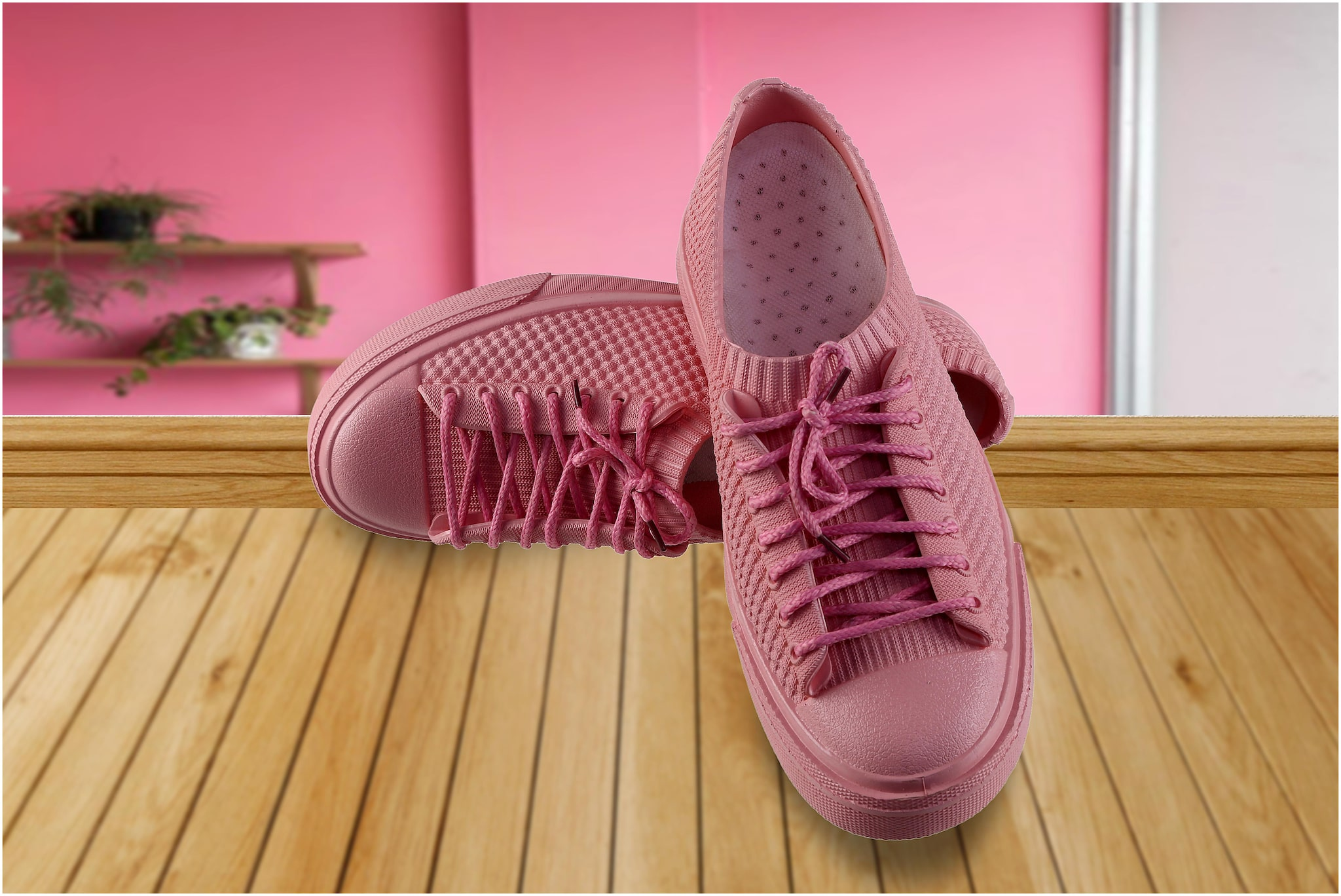 Zappy Women Pink Casual Shoes Online