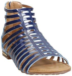 Zappy Blue Sandals