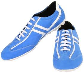 Zeal Men Blue Sneakers