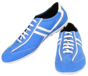 Zeal Men Blue Sneakers