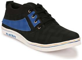 Zebx Men Black Sneakers