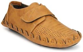 Zebx Men Brown Casual Shoes