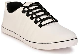 ZebX Men White Sneakers