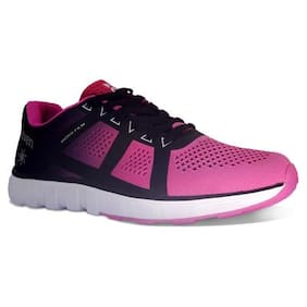 Zeven Grip Mesh 360 Degree Fit Purple Training And Gym Shoes Women s 02d200300