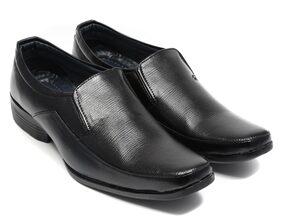 Ziesha Men Black Formal Shoes
