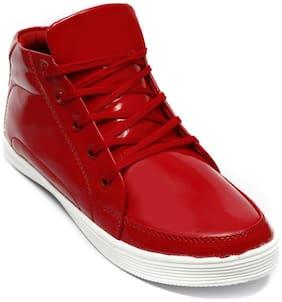Ziesha Men Red Ankle Boots