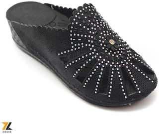 Ziesha Sandals For Women ( Black )
