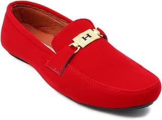 Ziesha Loafers For Men ( Red )