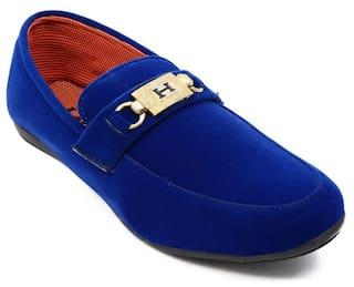 Ziesha Loafers For Men ( Blue )