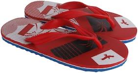 ZODY Men Red Indoor Slippers - 1 Pair