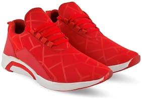 ZONAC Men Red Casual Shoes - ZN5520