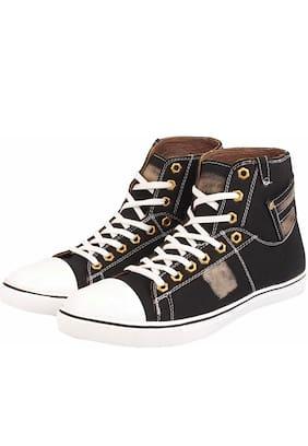 ZONAC Men Black Outdoor Boots - ZN9900