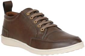 ZORNNA Karaasa Men Brown Sneakers -