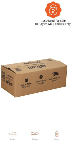 1000 gms PT006 Paytm Mall Branded Boxes, 11.6 x 5.6 x 4.4 Inches (Pack of 50)