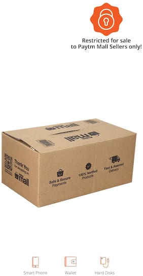 1000 gms PT007 Paytm Mall Branded Boxes, 10.5 x 6 x 4.8 Inches (Pack of 50)