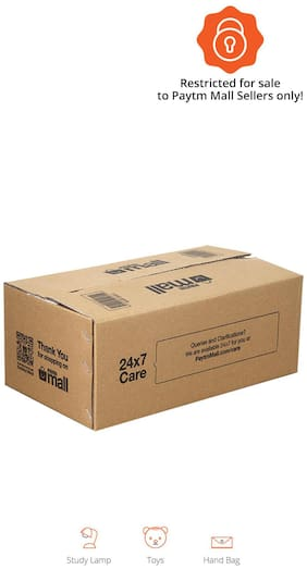 1500 gms PT010 Paytm Mall Branded Boxes, 13 x 7 x 5 Inches (Pack of 50)