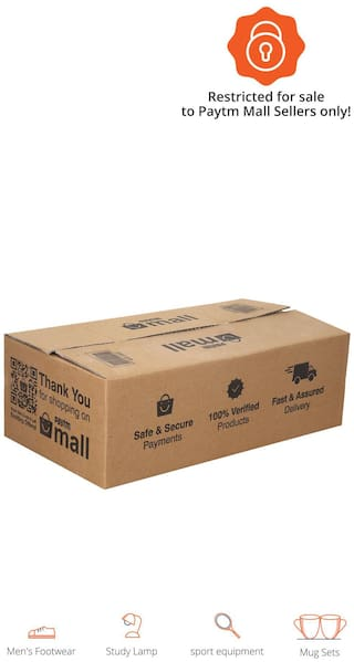 2000 gms PT011 Paytm Mall Branded Boxes, 15 x 8 x 5 Inches (Pack of 50)
