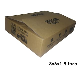 250 gms PT039 Paytm Mall Branded Boxes 8 x 6 x 1.5 Inches (Pack of 50)