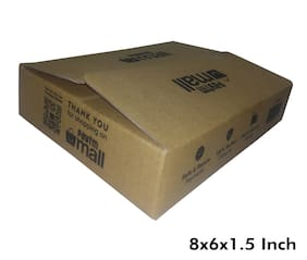 250 gms PT039 Paytm Mall Branded Boxes 8 x 6 x 1.5 Inches (Pack of 100)